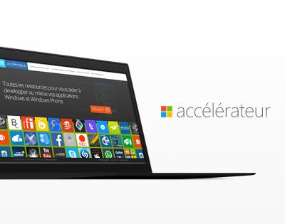 Accélérateur Microsoft