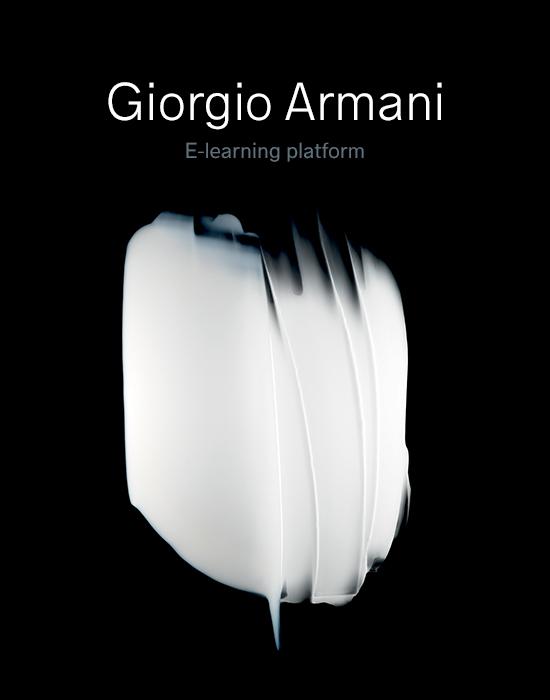 Giorgio Armani – E-Learning