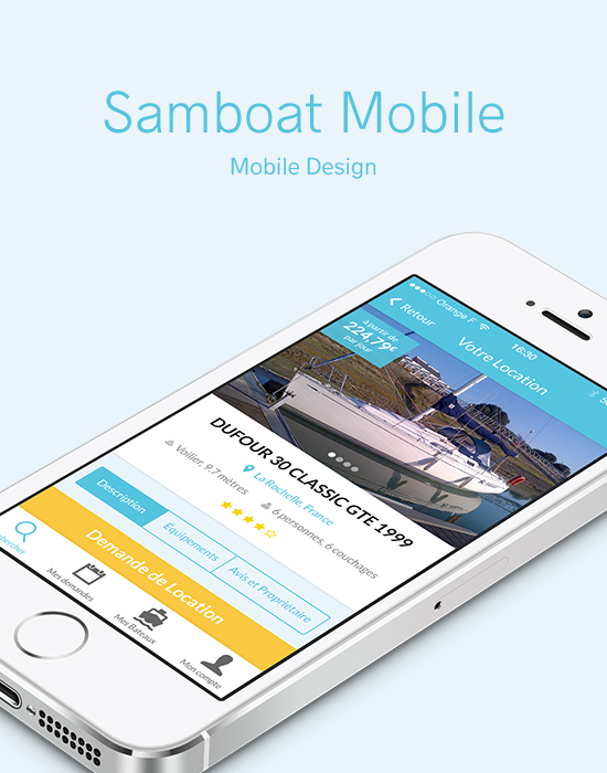 Samboat – Mobile