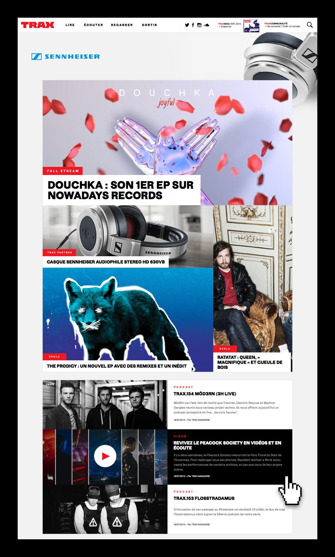 TRAX Magazine - Home