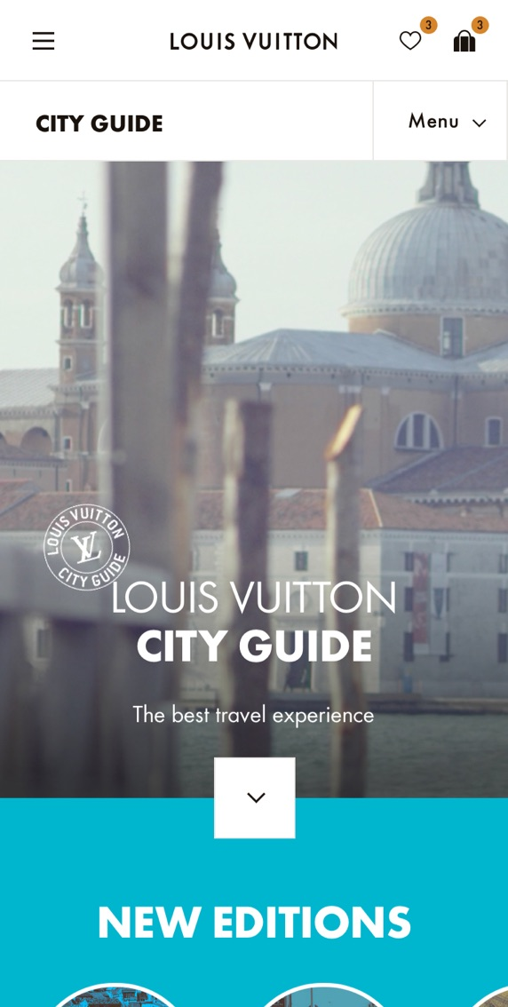 LV City Guide - Home Mobile