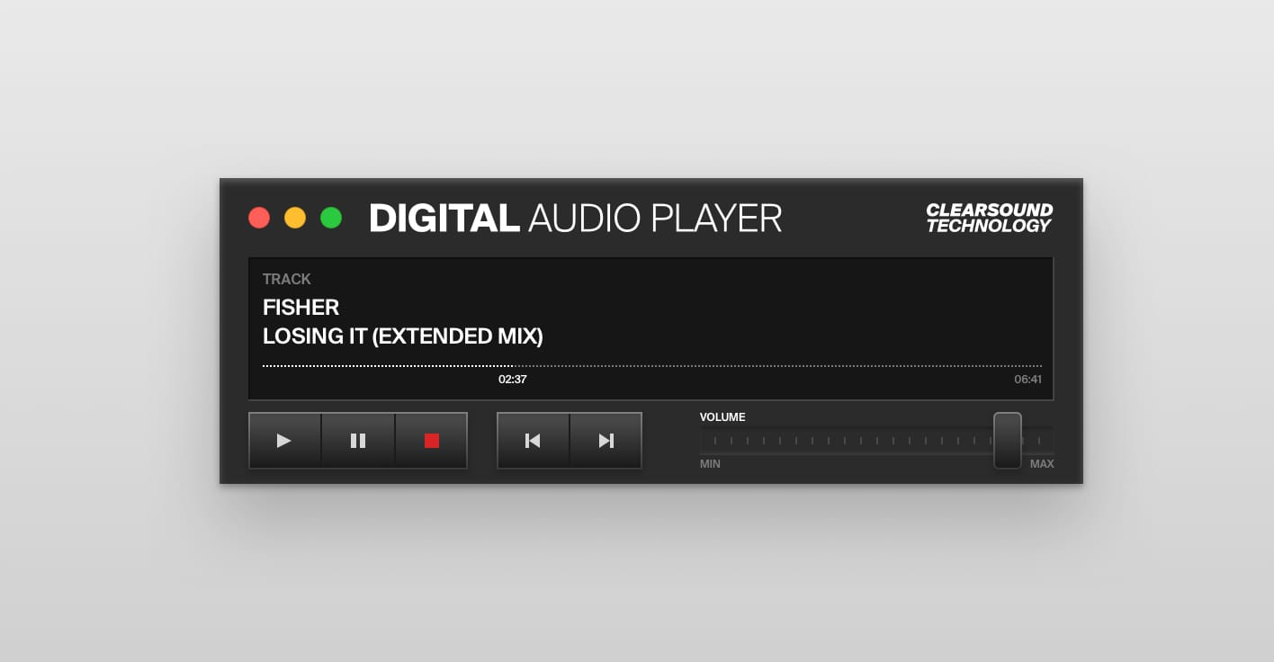 DIGITALAUDIOPLAYER