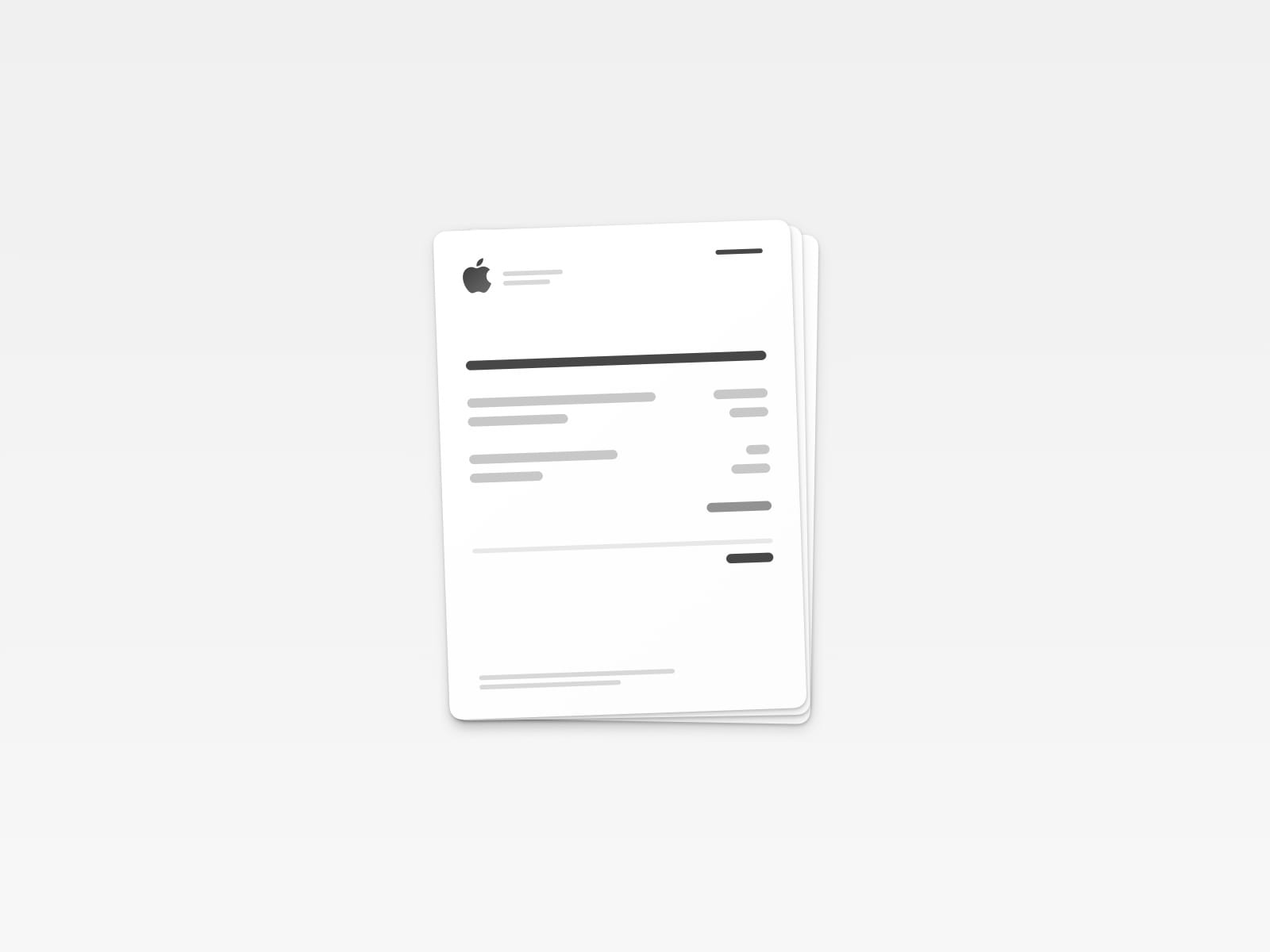 Invoice Mac Icon