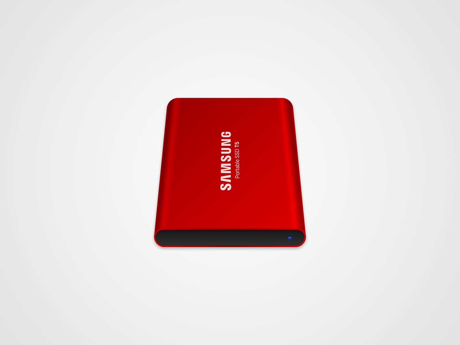 Samsung T5 SSD mac Icon