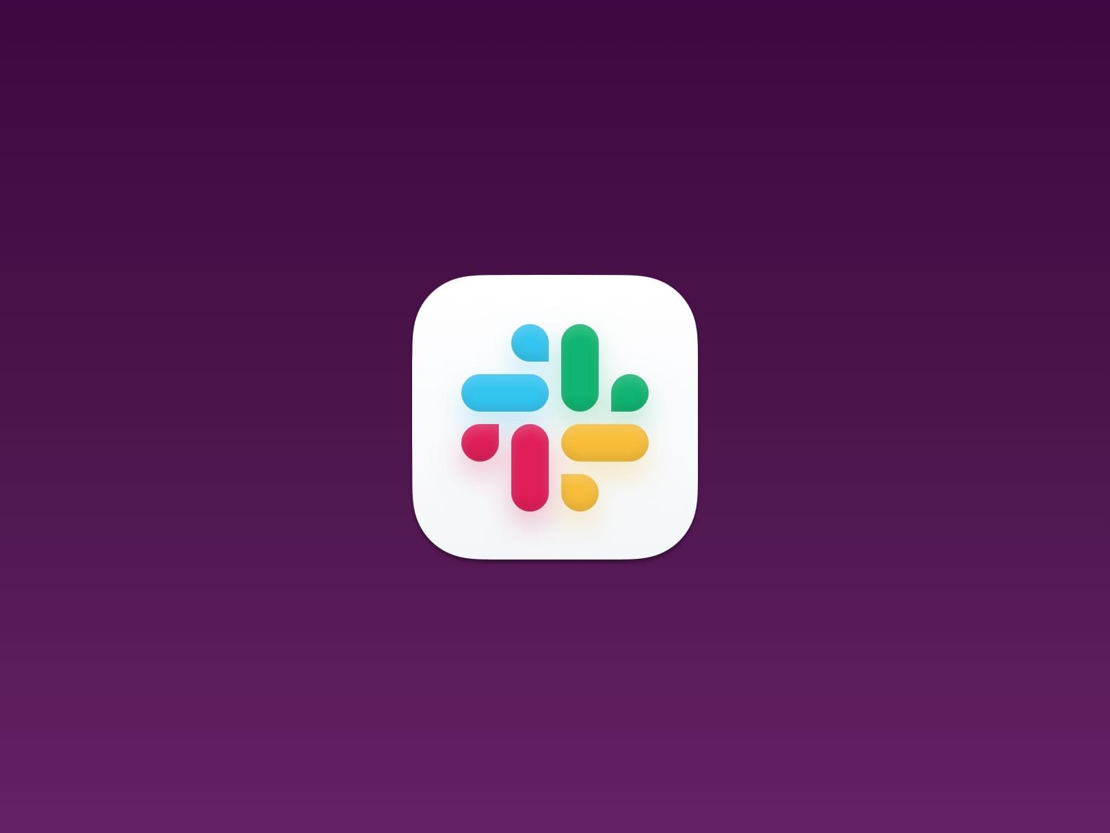 Slack macOS Big Sur Icon